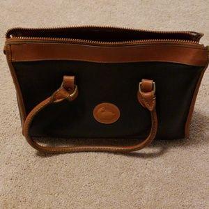 Vintage Dooney and Bourke handbag navy